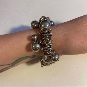 🛍3/$25 Chunky Silver bracelet